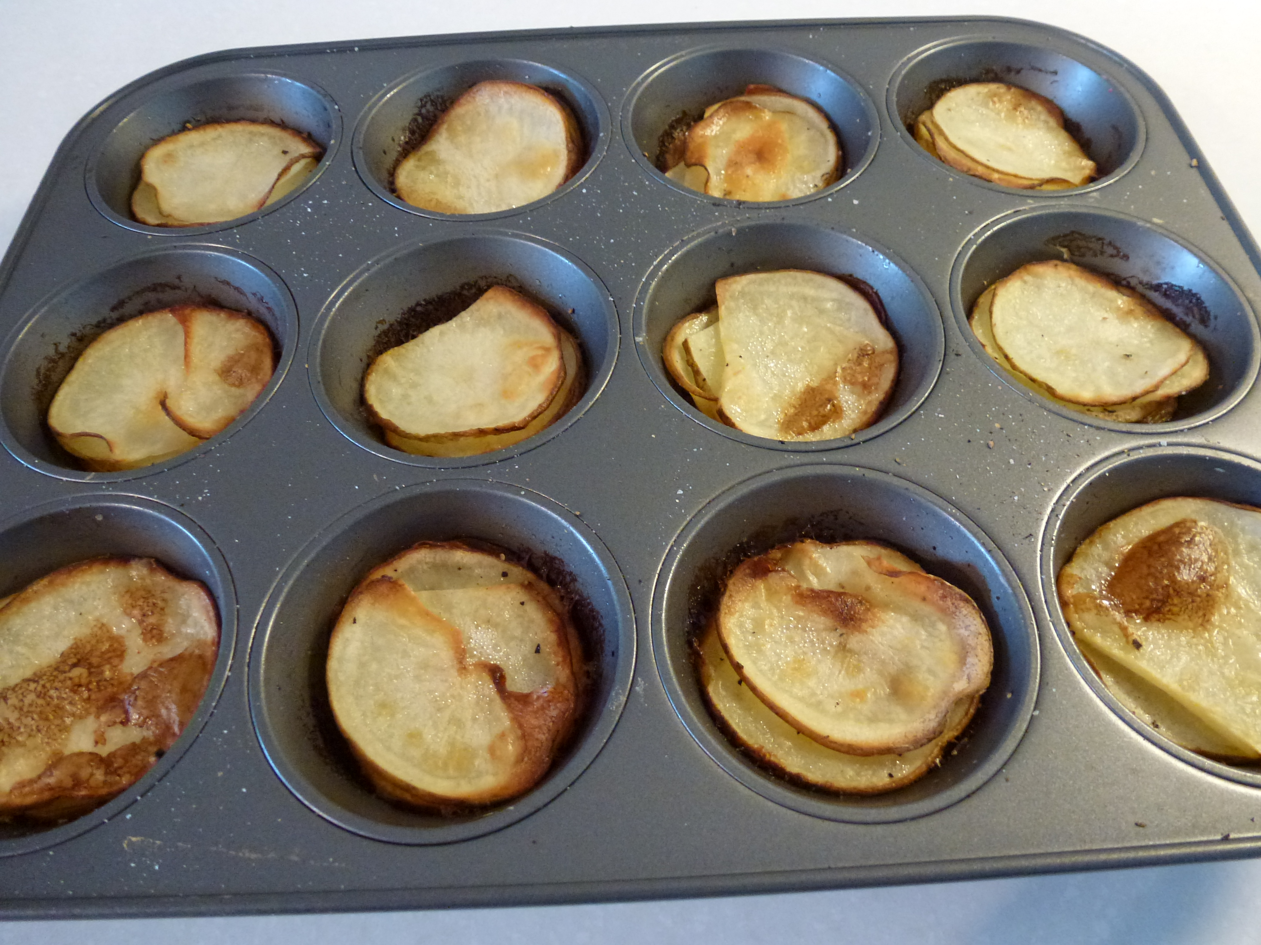 Muffin-Pan Potato Gratins | Notes From Dawn