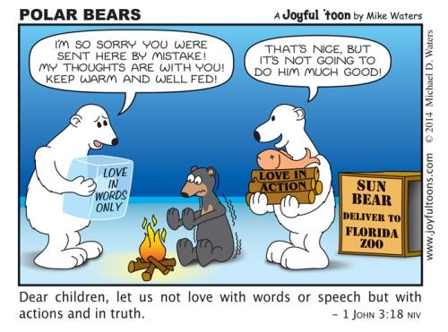 Polar Bears - 1 John 3:18